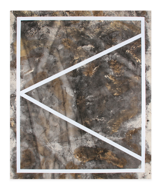 "Ed Moses, Wack #1, 2017, acrylic on canvas, 72"" x 60"""