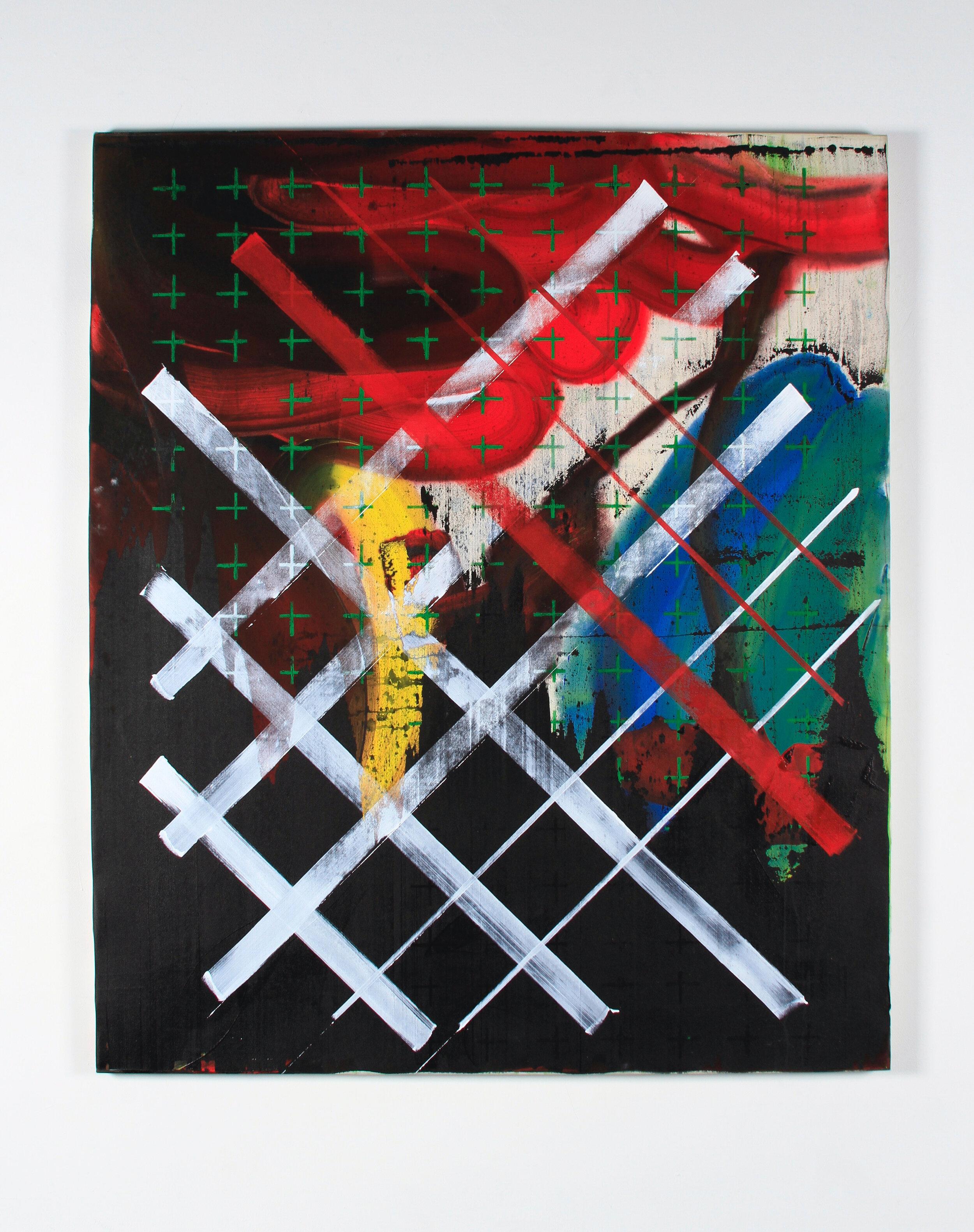 """Ed Moses, Woosh #1, 2016, acrylic on canvas, 78"""" x 66"""""""