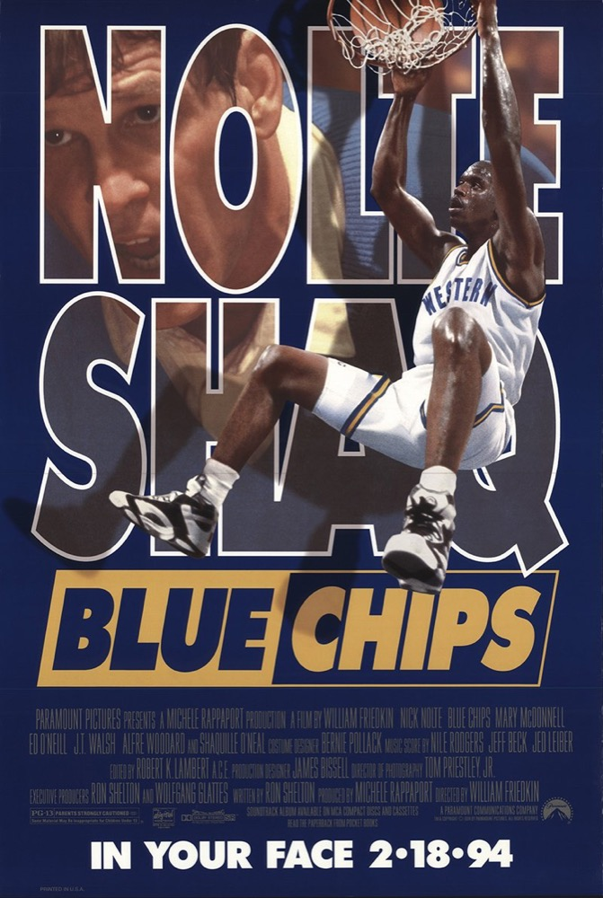 Blue Chips Soundtrack - Jed Leiber, Composer