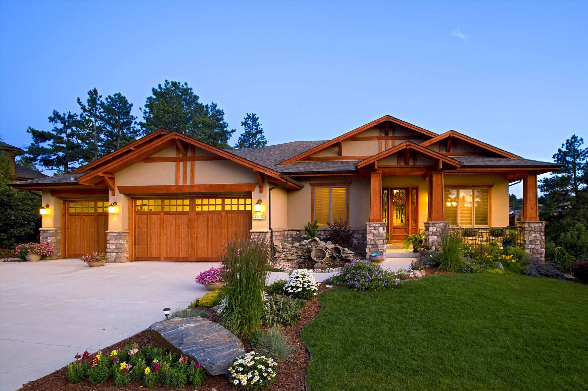 Craftsman Custom Ranch Home Castle Rock Colorado.jpg