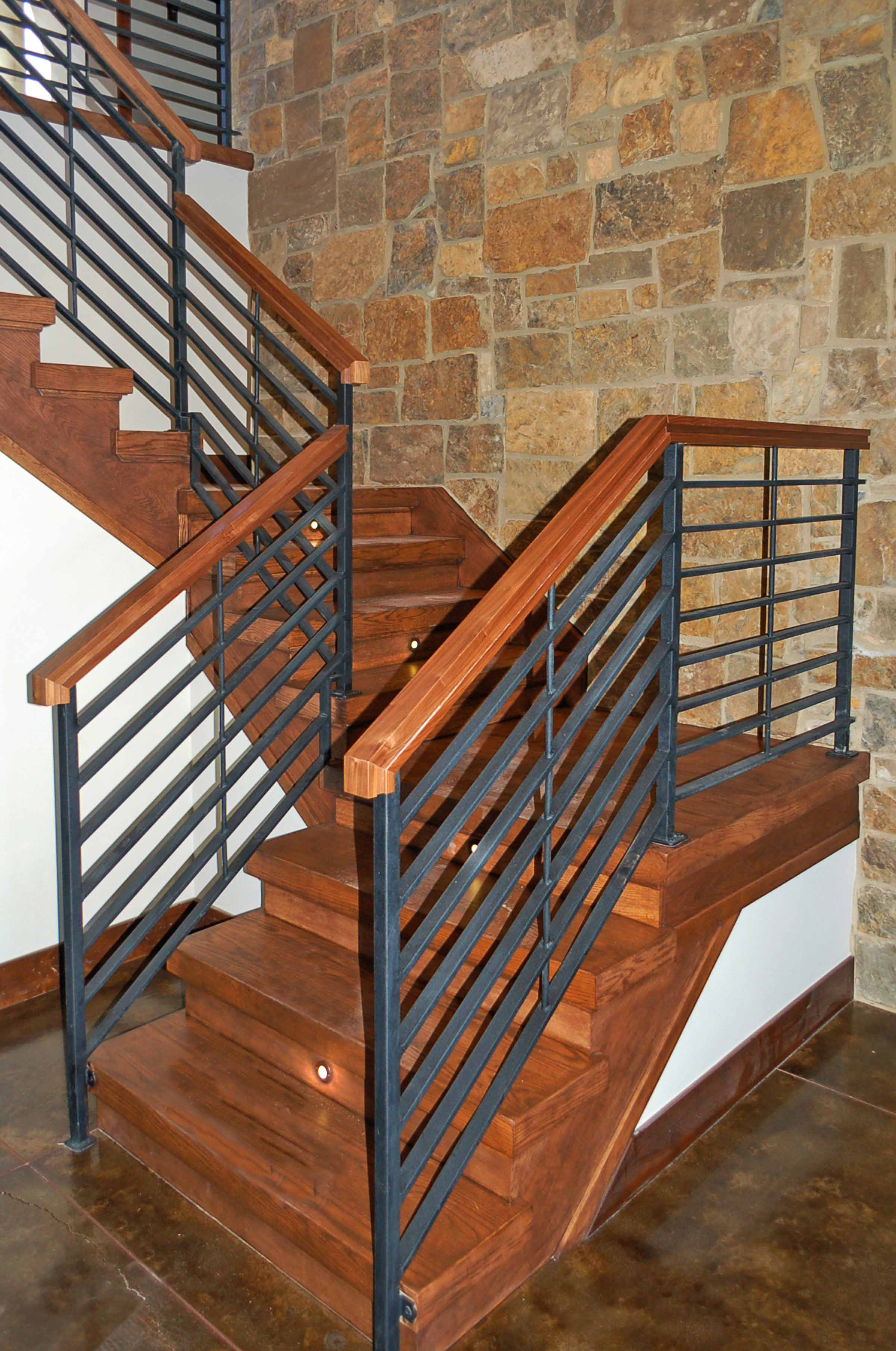 Custom Lighted Stairwary Castle Rock Colorado.jpg