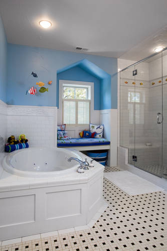 Kids Bathroom Custom Tile Shower Denver CO.jpg