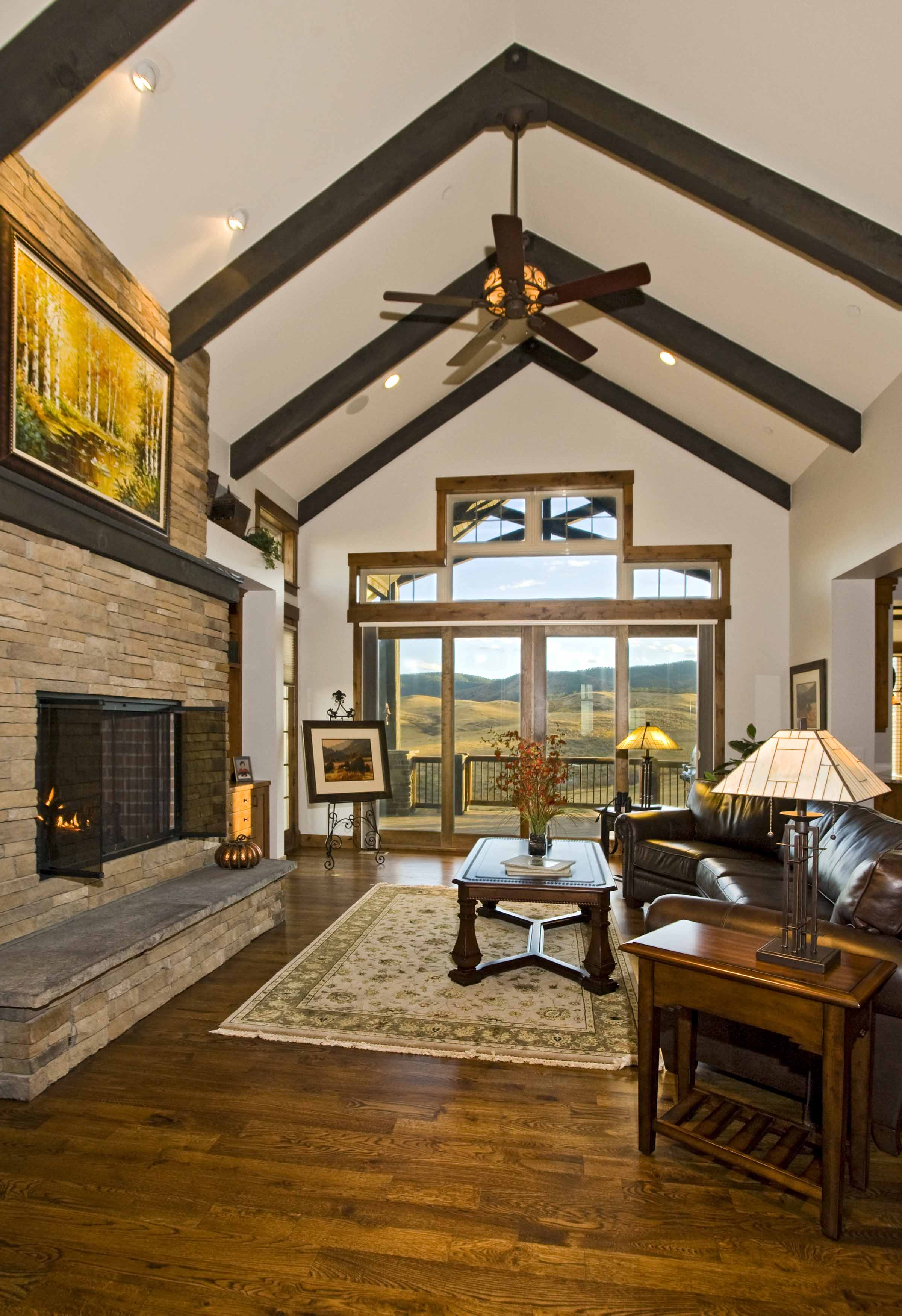 Sedalia Colorado Custom Home Great Room.jpg