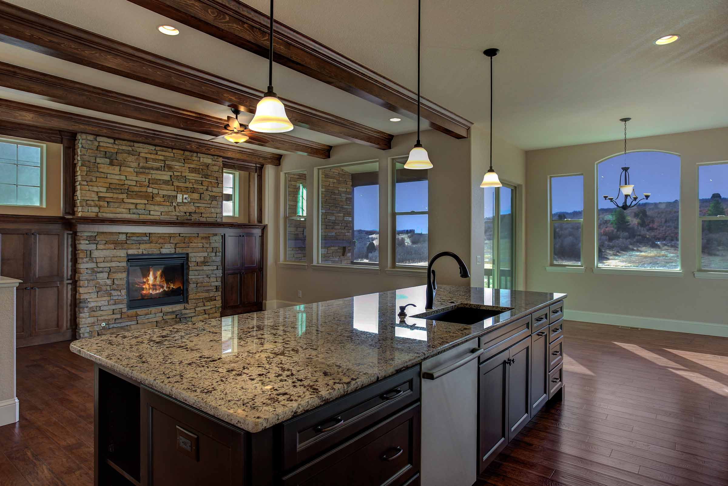 Luxury Custom Kitchen New Home Open Floor Plan Castle Rock Colorado.jpg