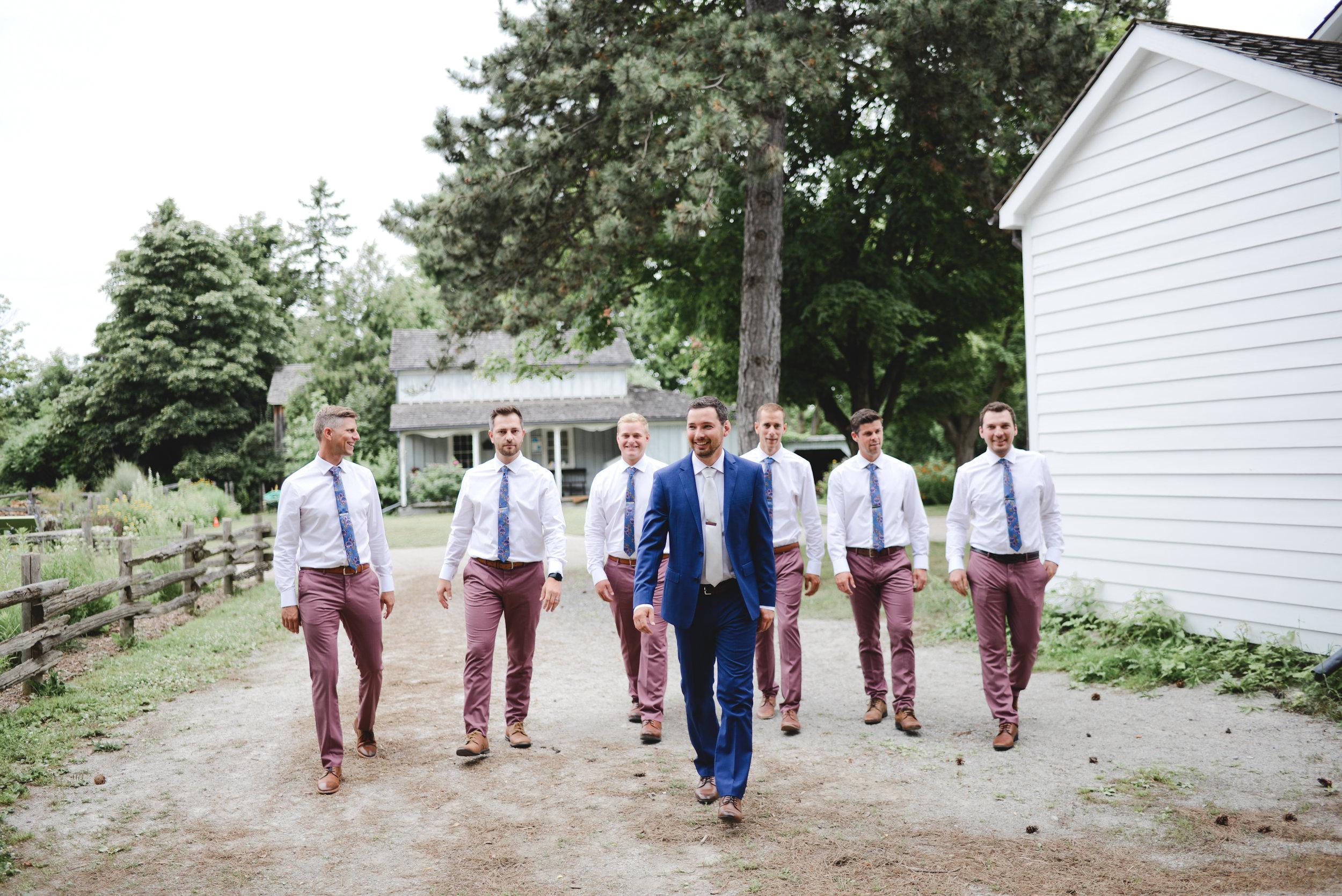 Black Creek Pioneer Village wedding party (9).jpg