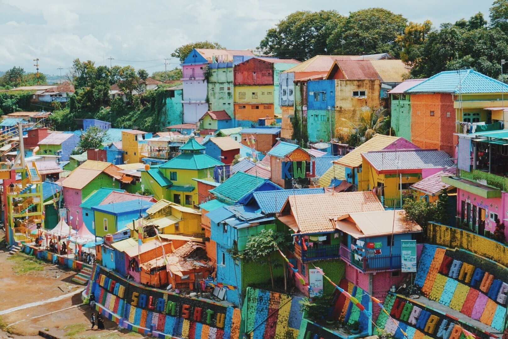 Rainbow Village In Malang Indonesia We Are Wildlings Adventure