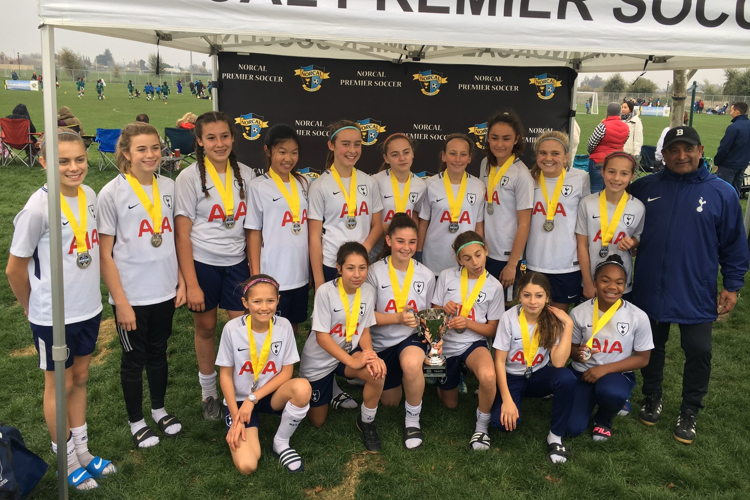 2006G - Coach Manish DoshiNorCal Youth Premier (Silver) 11v11