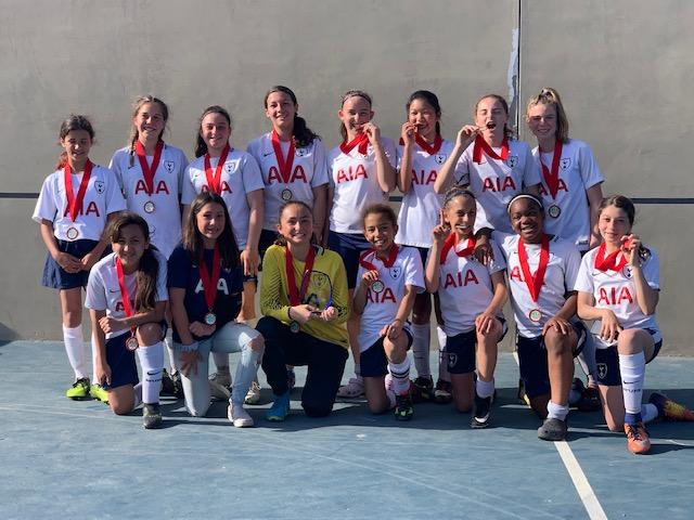 06G Team Champions at MVLA tournament // Spring 2019