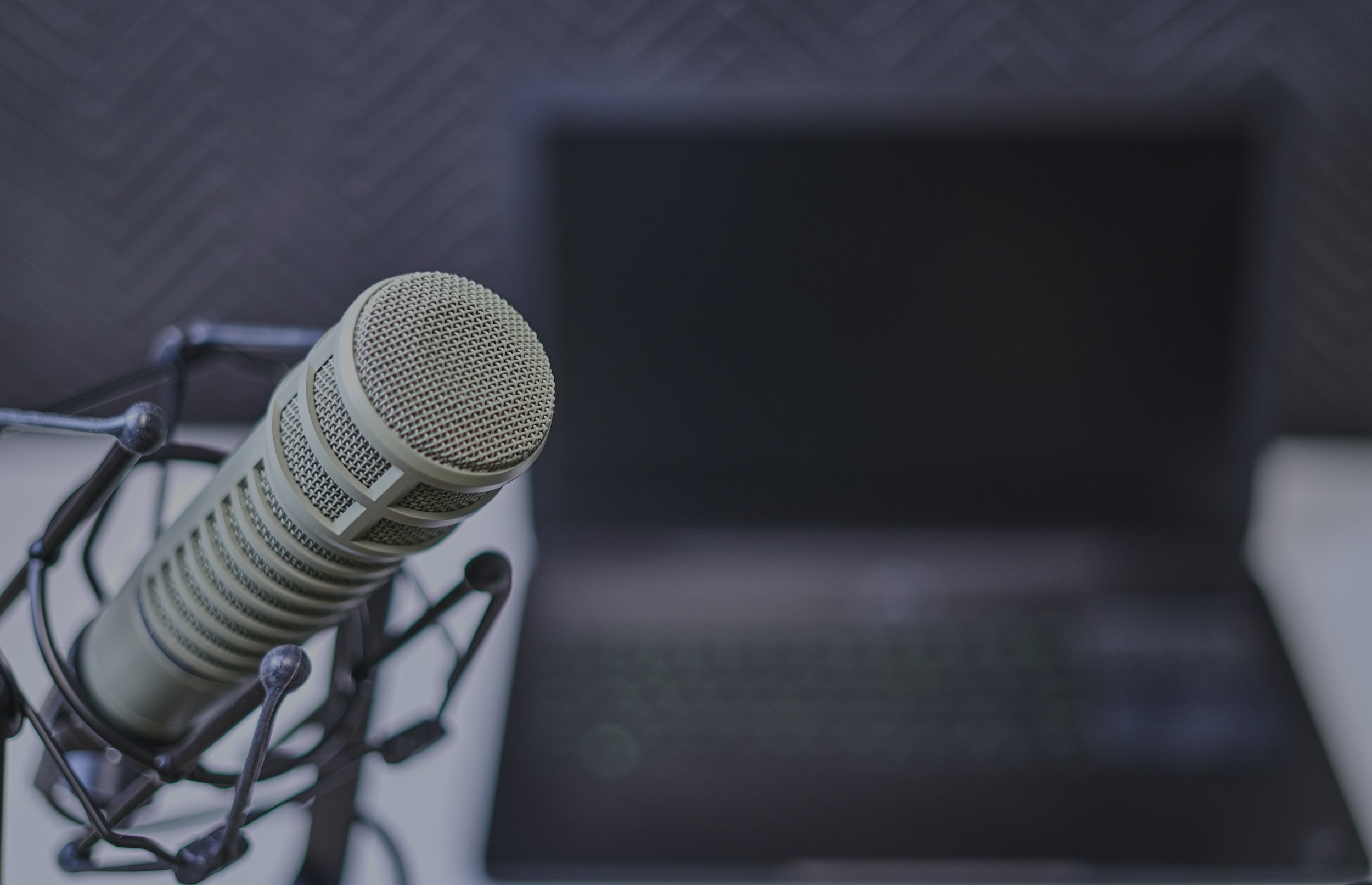 The Electro-Voice RE20 is a broadcasting standard across the world.  Photo by  Dan LeFebvre  on  Unsplash