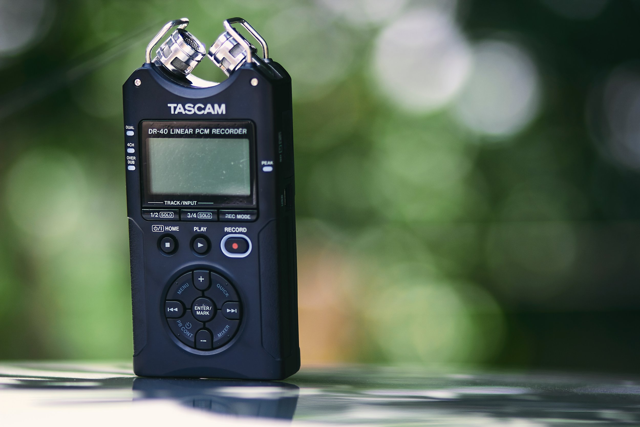 Planning on recording in different places? Bring a field recorder. Photo by  Oscar Ivan Esquivel Arteaga  on  Unsplash