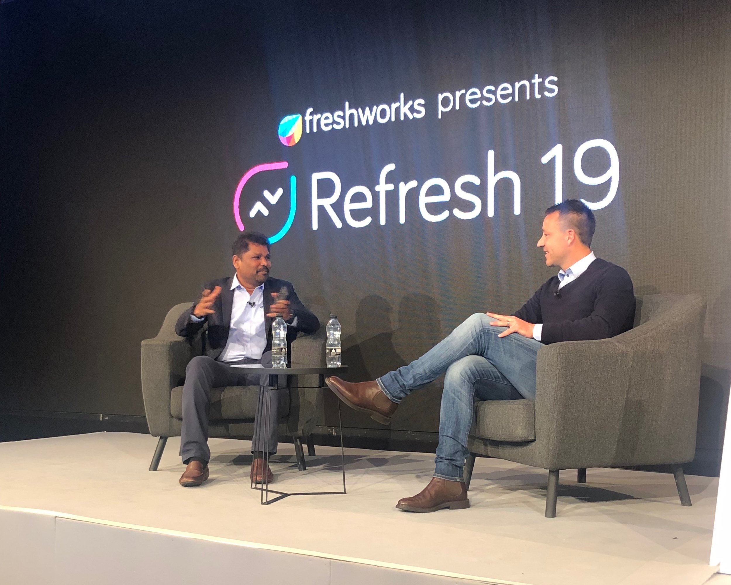 - Key speakers included English football coach and legend John Terry and Freshworks CEO Girish Mathrubootham, with many other truly impressive speakers and industry experts adding to the line up.
