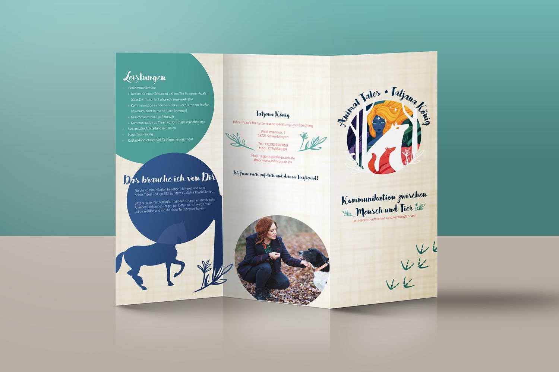 Flyer Animal Tales