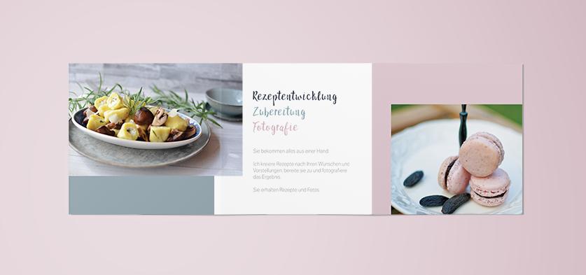 Flyer Rezepte & Foodfotografie