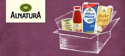 Alnatura Website Banner