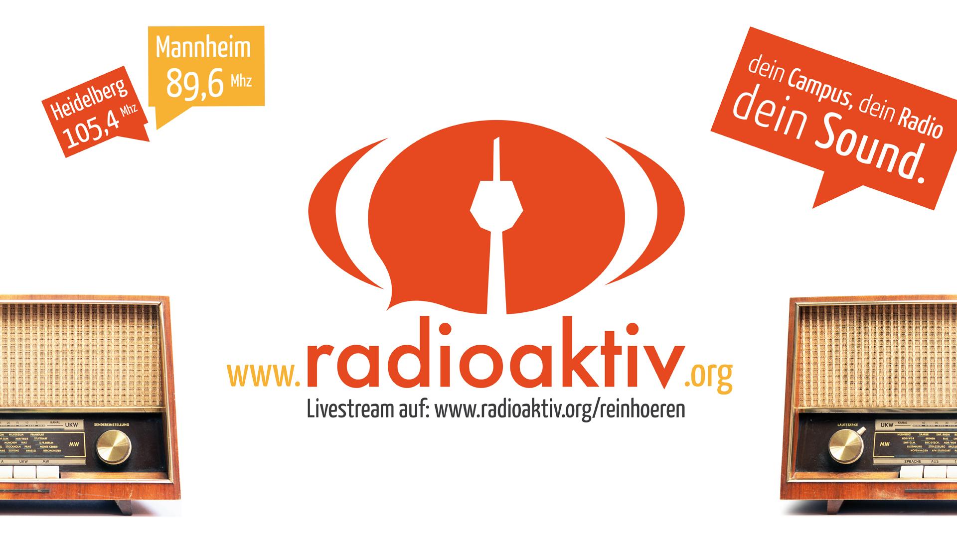 Radioaktiv Websitebanner