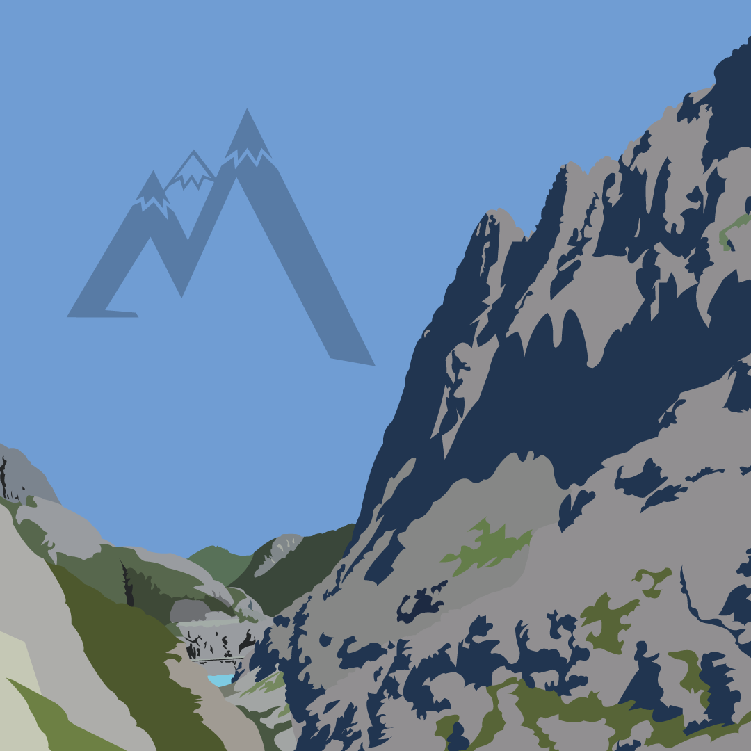 Mont Découverte - 360⁰ Poster Campaign for an Outdoor Mountain Adventure Brand