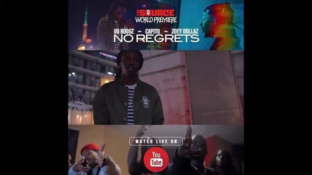 New @aboogie978 No Regrets ft @capitob & @zoeydollaz video live on @thesource @youtube prod by @poundareplay @zonesmizz 🎬 @iruntv @partbypapi 🔥 #NoGrindNoShine 🌎