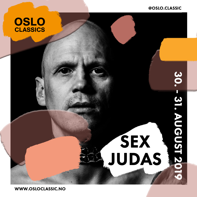 Sex Judas - Friday 30th of August17:30 @ Oslo Classic, Salt(For English, please scroll down)Et særegent og høyst dansbart uttrykk! Tores Judas er ingen slem fyr, snarere en frisindig hippie med stor appetitt for livet.