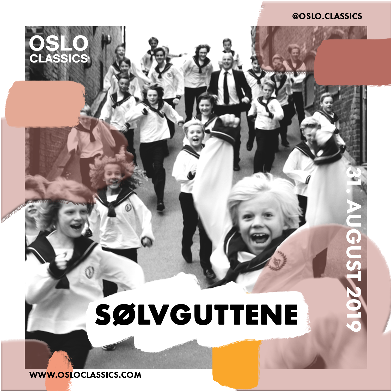Sølvguttene - Saturday 31th of August17:30 @ Oslo Classic, Salt(For English, please scroll down)