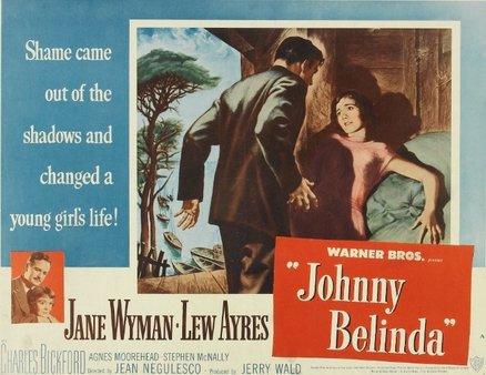 "Movie Poster for Harris' ""Johnny Belinda""."