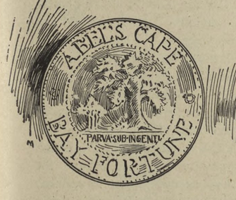 An early insignia, created by some of the residents of Abel's Cape.