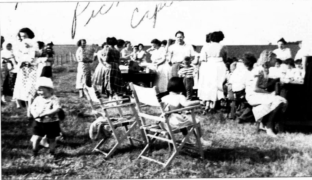 Picnic at the Cape Field. Date Unknown.