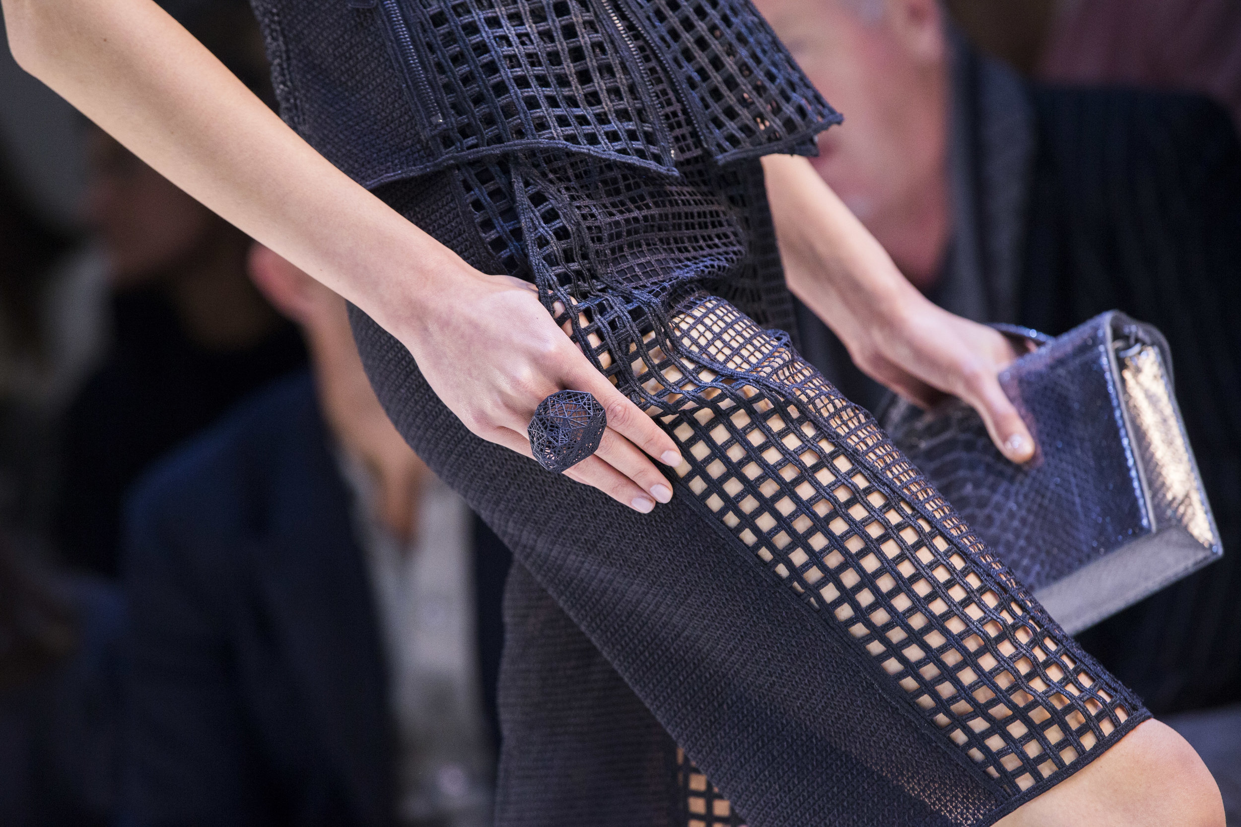 AKRIS & VOJD Studios 3D Printed Rings, Spring-Summer 2016 - Courtesy to Akris III.jpg