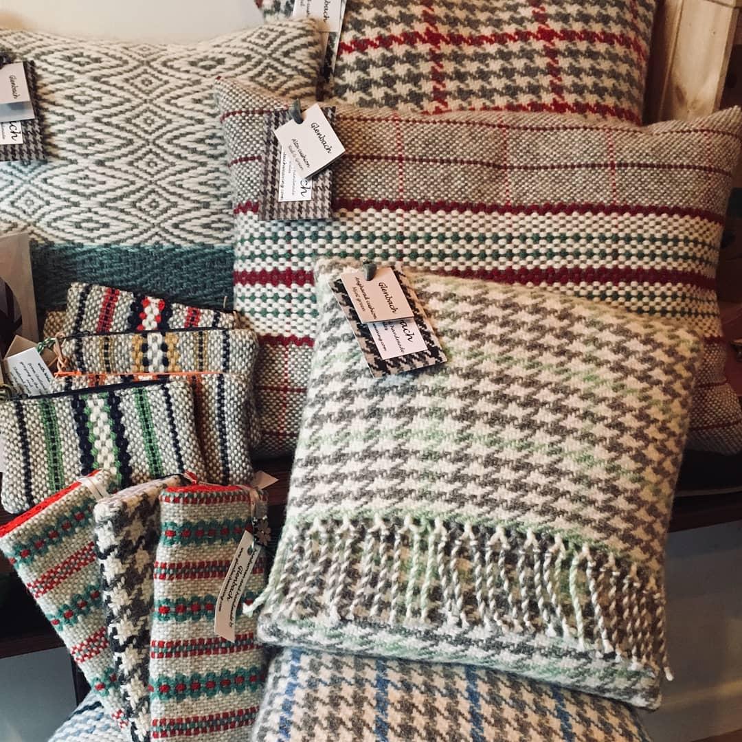 Glenbach Weaving  Weaver and Wool Work