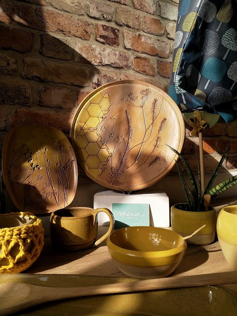 Mena Ceramics' Bee Collection appealed to the National Trust, which will be selling products in its Pembrokeshire venues in 2019