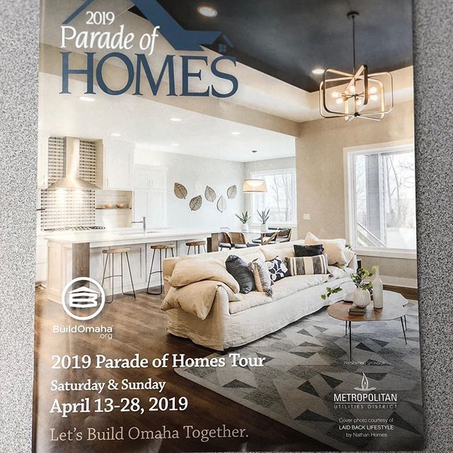2019 Spring Parade of Homes kicks off this weekend! Be sure to get out and see these beautiful homes and cabinetry. Let us know how we can help! 📐🏘 #buildomaha #customcabinetry