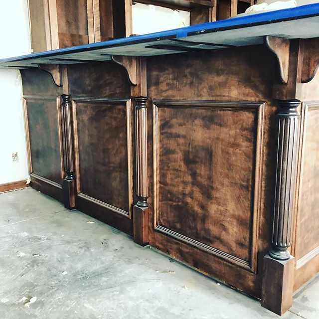 We like the little details👌🏼 Let us design your next #bar #custombar #customcabinetry #omaha www.cabsbydesign.com