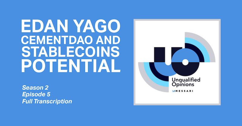 Unqualified Opinions Edan Yago