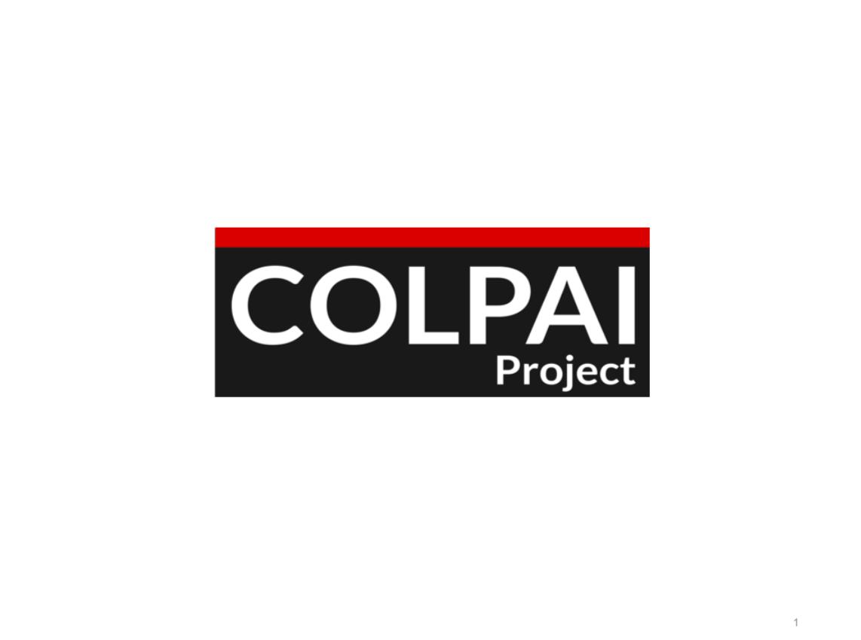 COLPAI Project Public Meeting Presentation - June 2019
