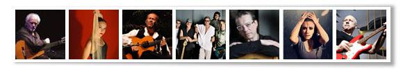Manolo Sanlúcar, Rocío Molina, Paco De Lucia, Deep Purple, Javier Latorre, Eva Yerbabuena and Mark Knopfler