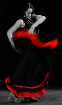 Serena Joy » flamenco dancer