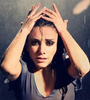 Eva Yerbabuena 'lluvia'