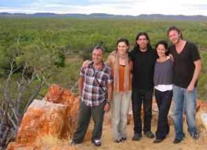 flamenco fire in australia (outback)