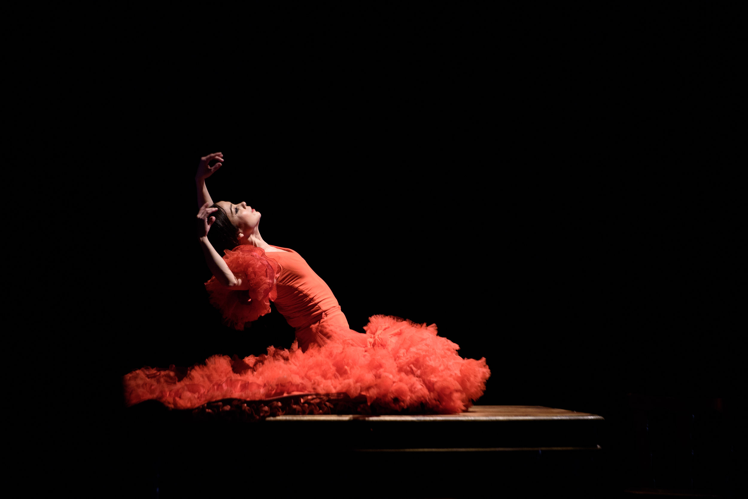 Olga Pericet - Photo by Paco Villalta courtesy of Festival Flamenco Alburquerque