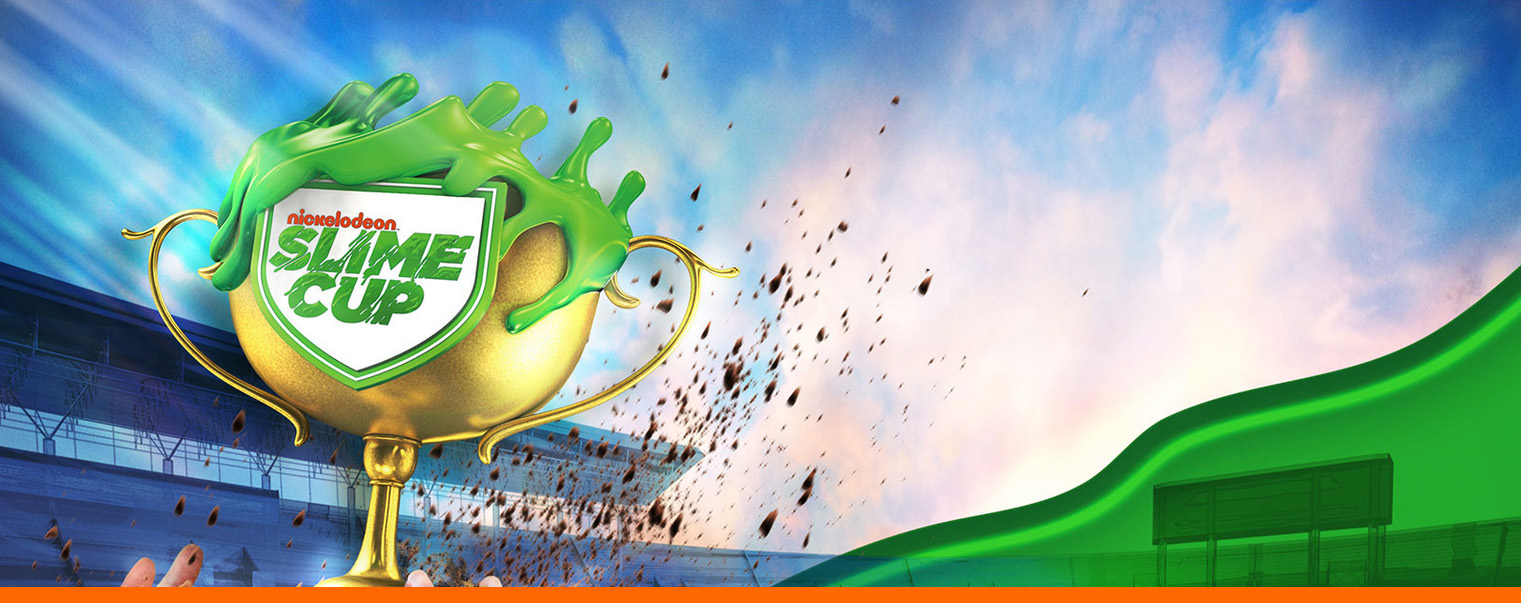 Design style frame 01 for Nickelodeon Slime Cup