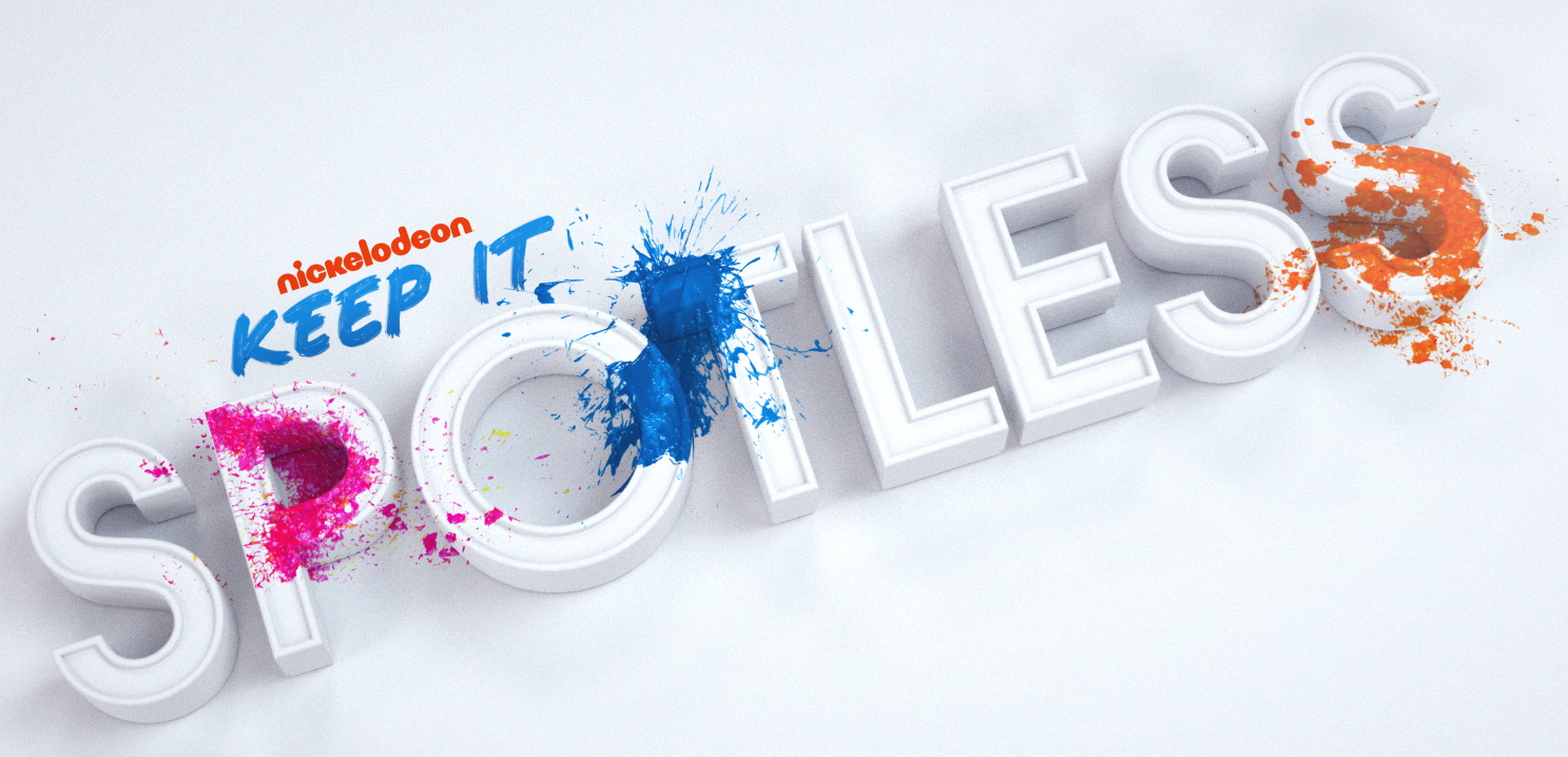 Design style frame 02 for Nickelodeon  Keep It Spotless
