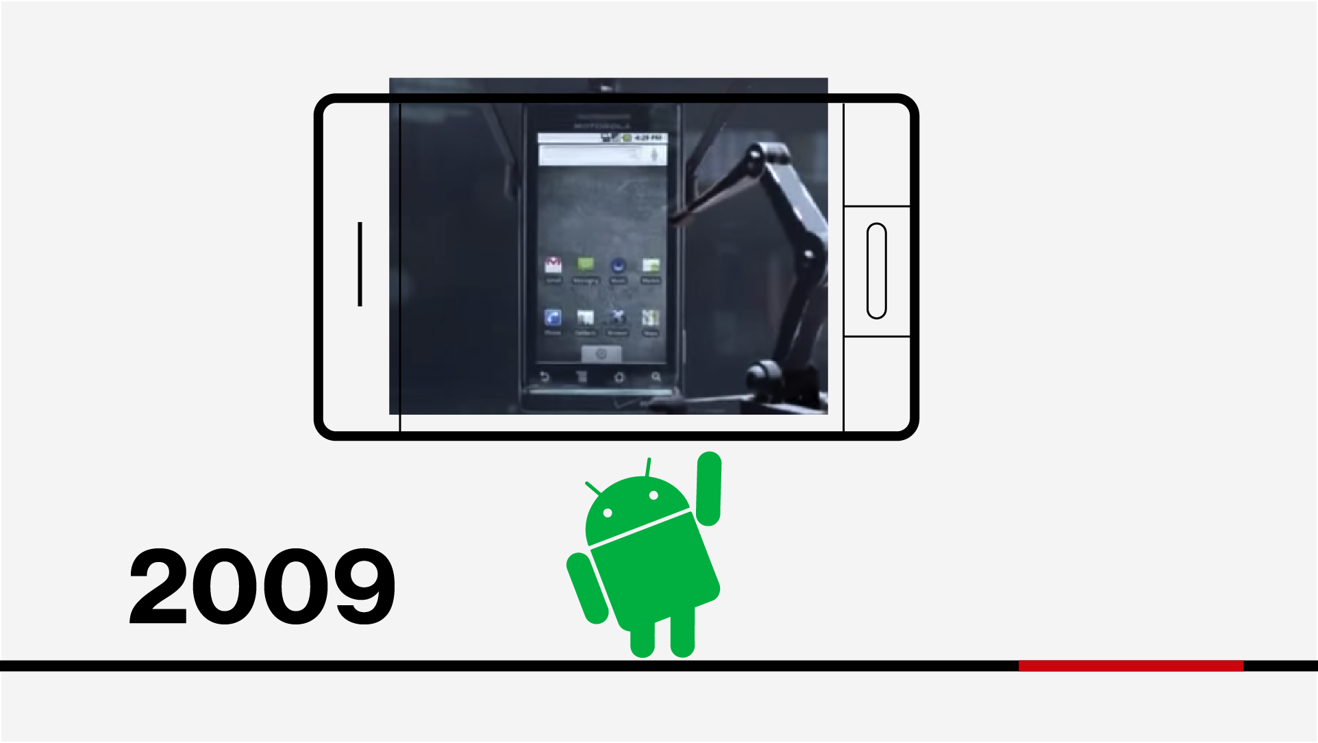 Concept Exploration: Evolution of Verizon video design style frame in 2D line drawing style