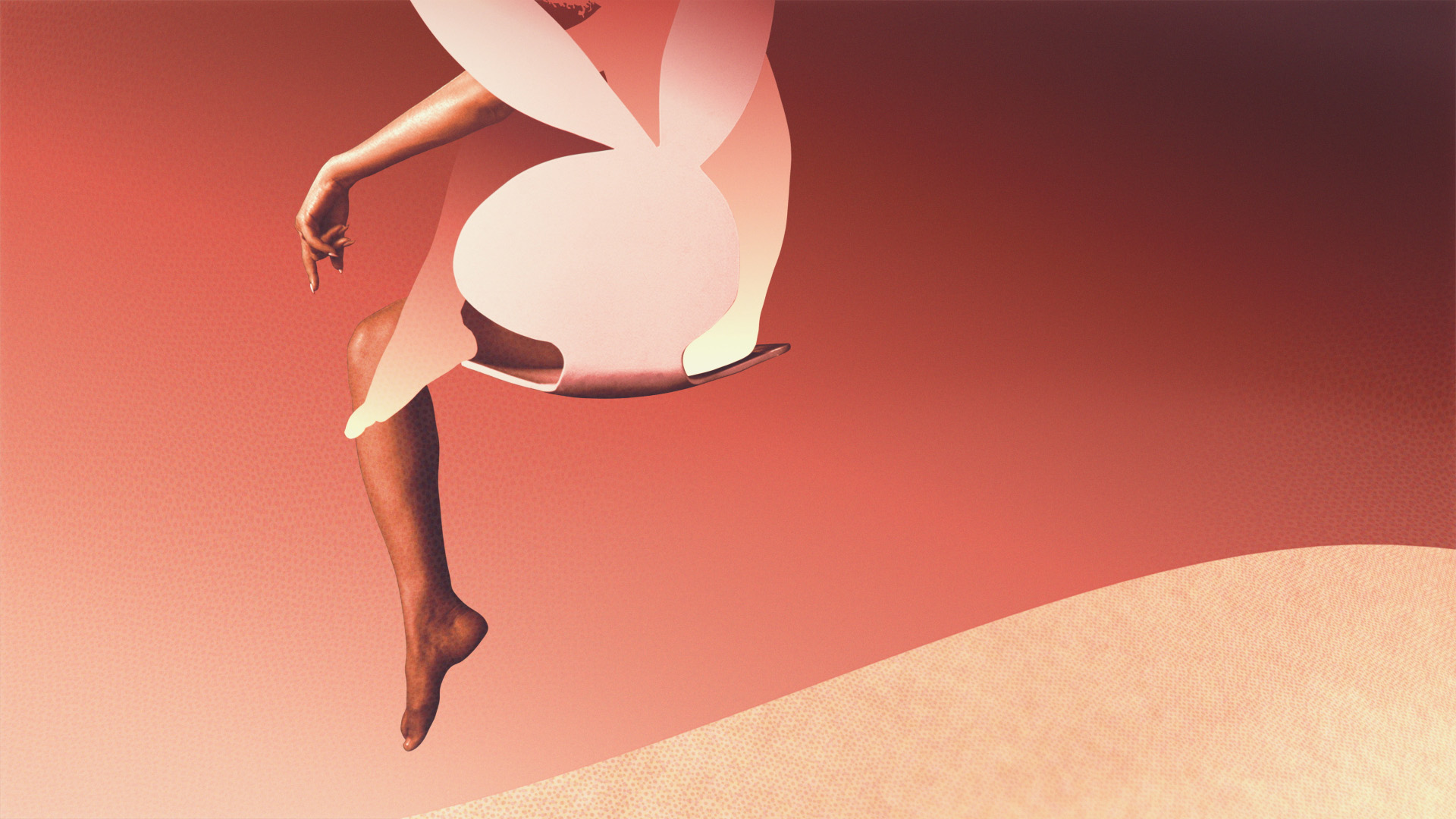 Design style frame 01 for American Playboy: The Hugh Hefner Story main title sequence