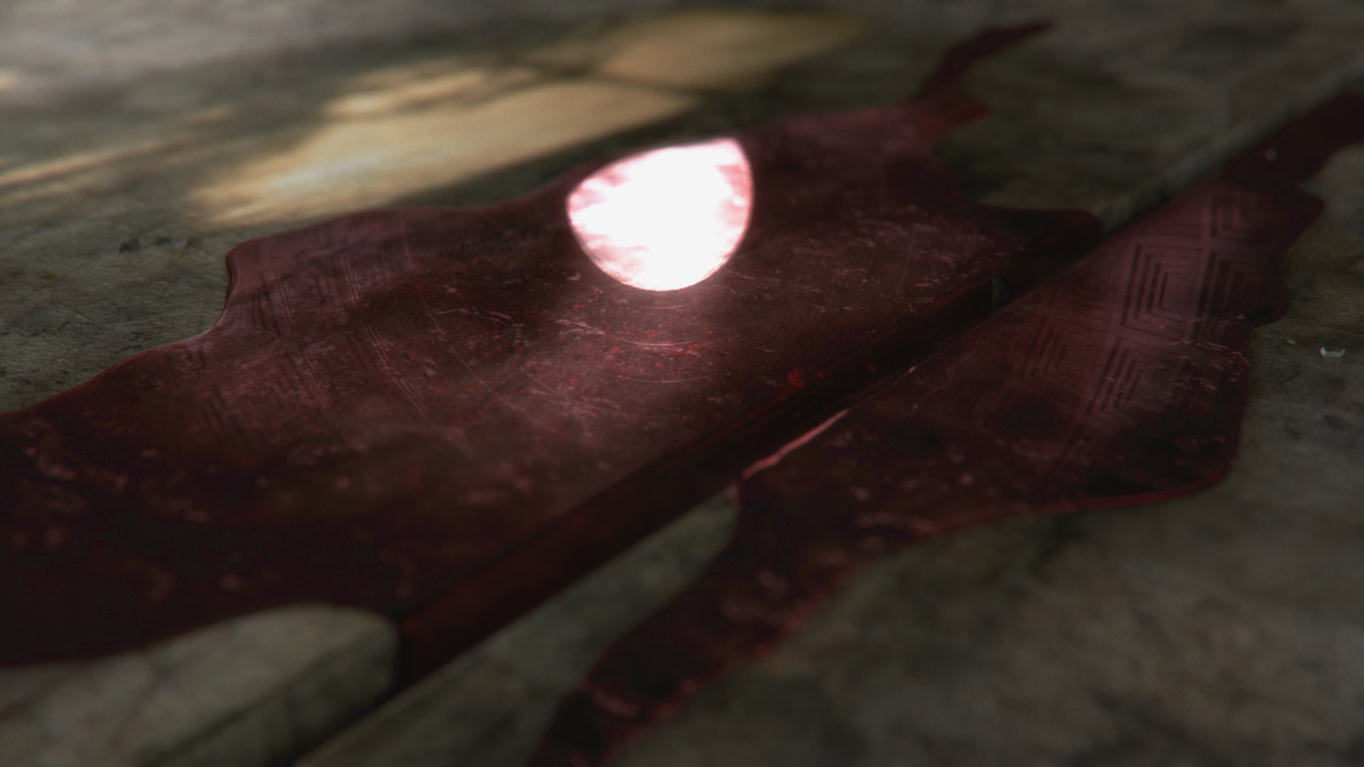 Design style frame 03 for Roman Empire: Reign of Blood main title sequence
