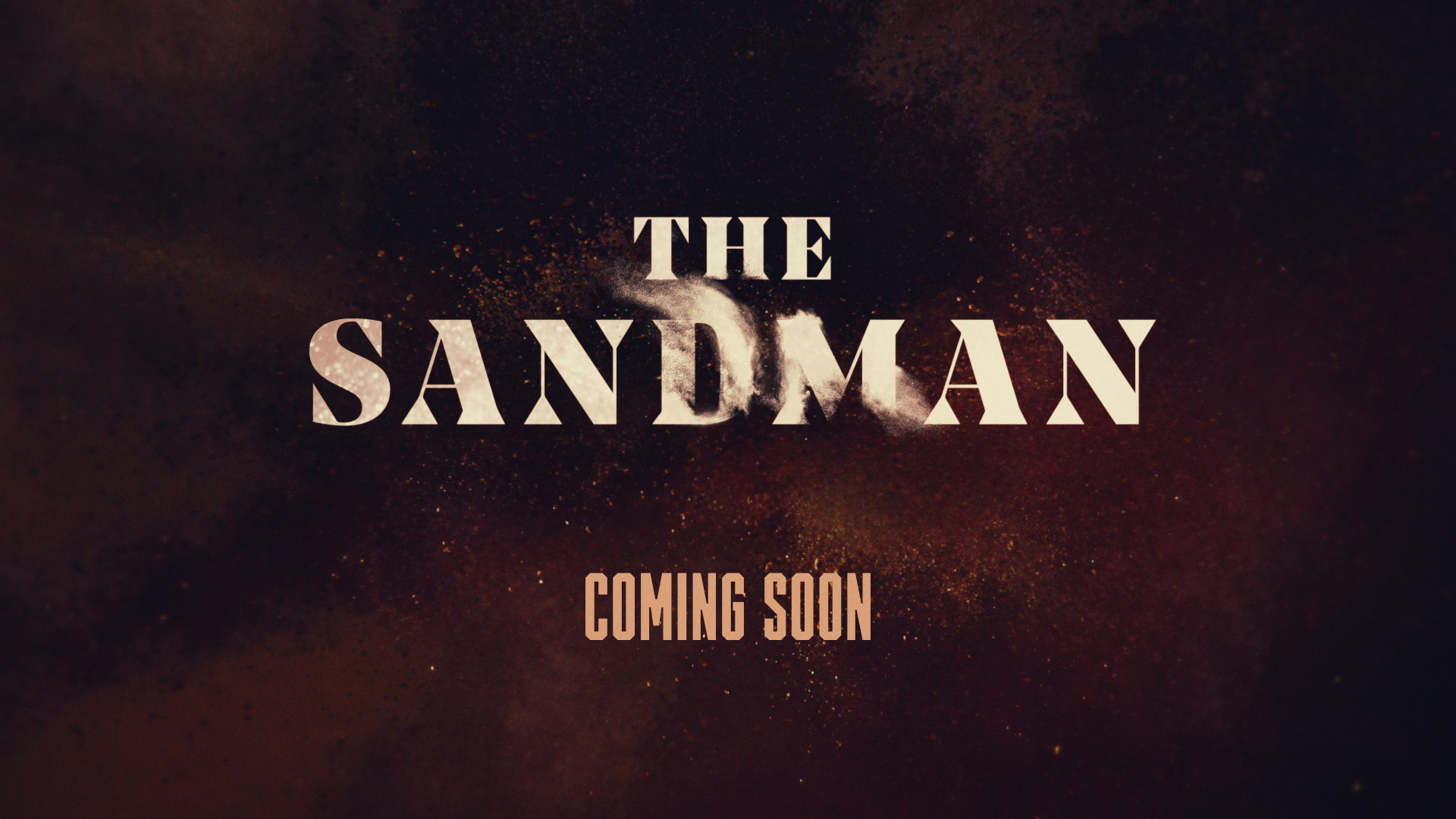 Design style frame 02 for SYFY Original The Sandman promo