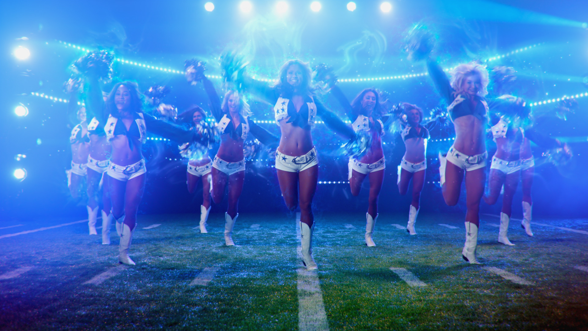 DALLAS COWBOY CHEERLEADERS - Show LaunchCMT