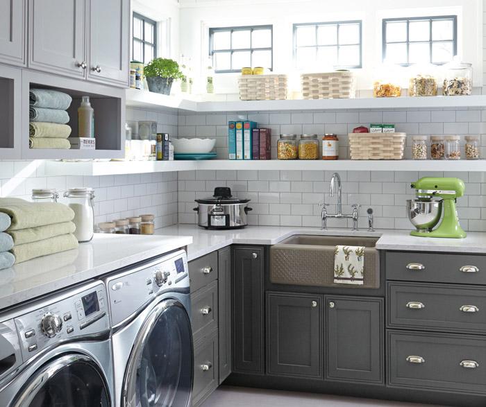 Laundry — D&M Cabinet Shop