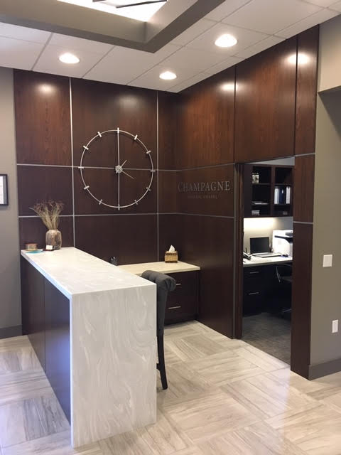 Champagne Funeral Home Front Desk - Side View.jpg