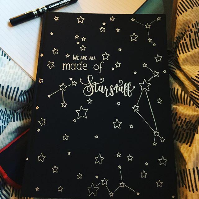 I am high on pen. So worth it.  #stars #starstuff #carlsagan #quotes #liquidchromemarker #shiny
