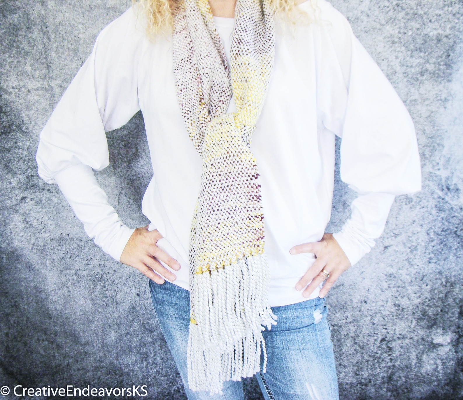 Vivid Handwoven Scarf by Kristina Smiley.jpg