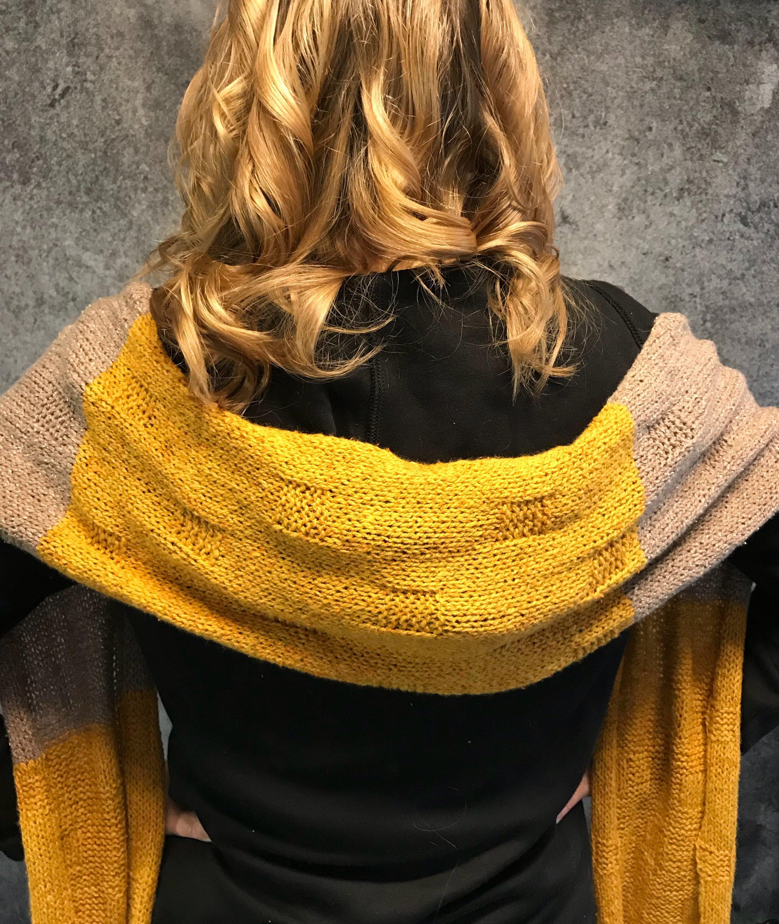 Cobblestone Knit Scarf
